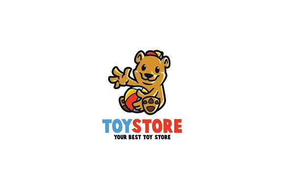 Bear Toys Store Logo