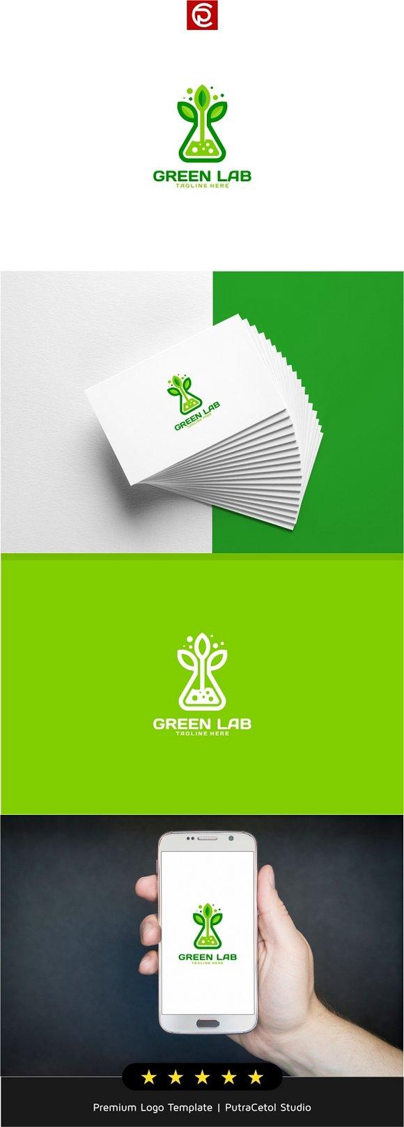 Nature Green Lab Logo