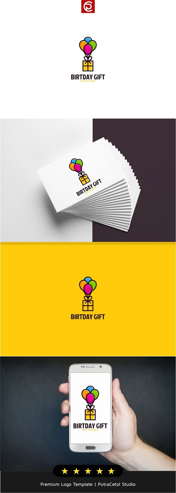 Birthday Gift Logo