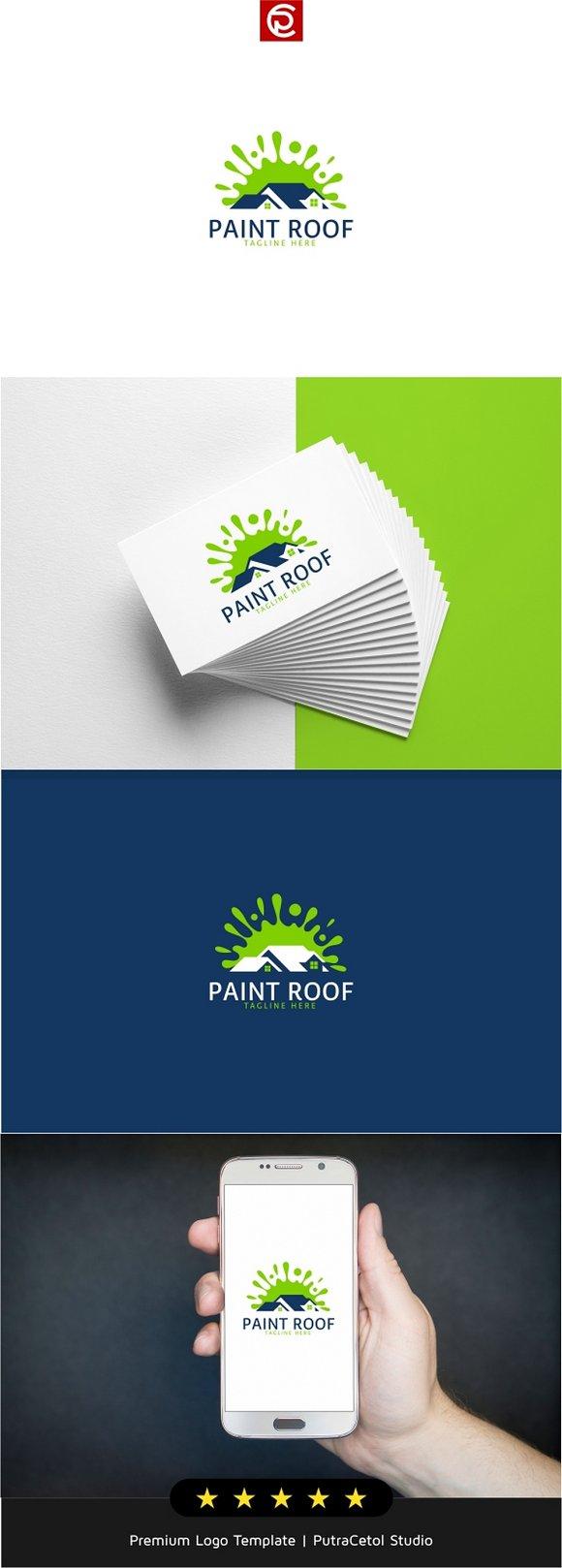 Paint Roof Logo