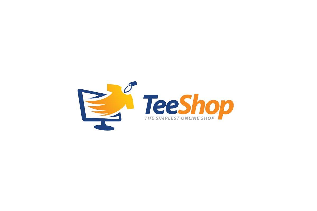 dd814c36 Tee Shop Logo ~ Logo Templates ~ Creative Market