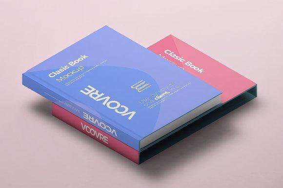 Book Hard Cover Mockup 9