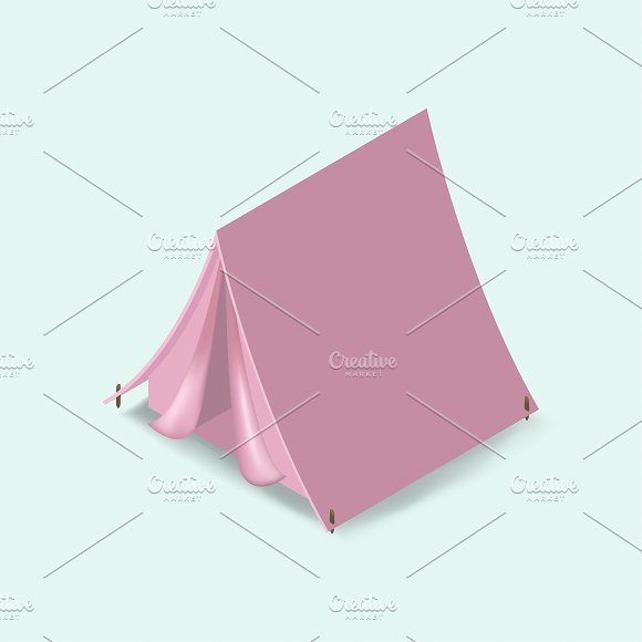 Vector Of Camping Tent Icon