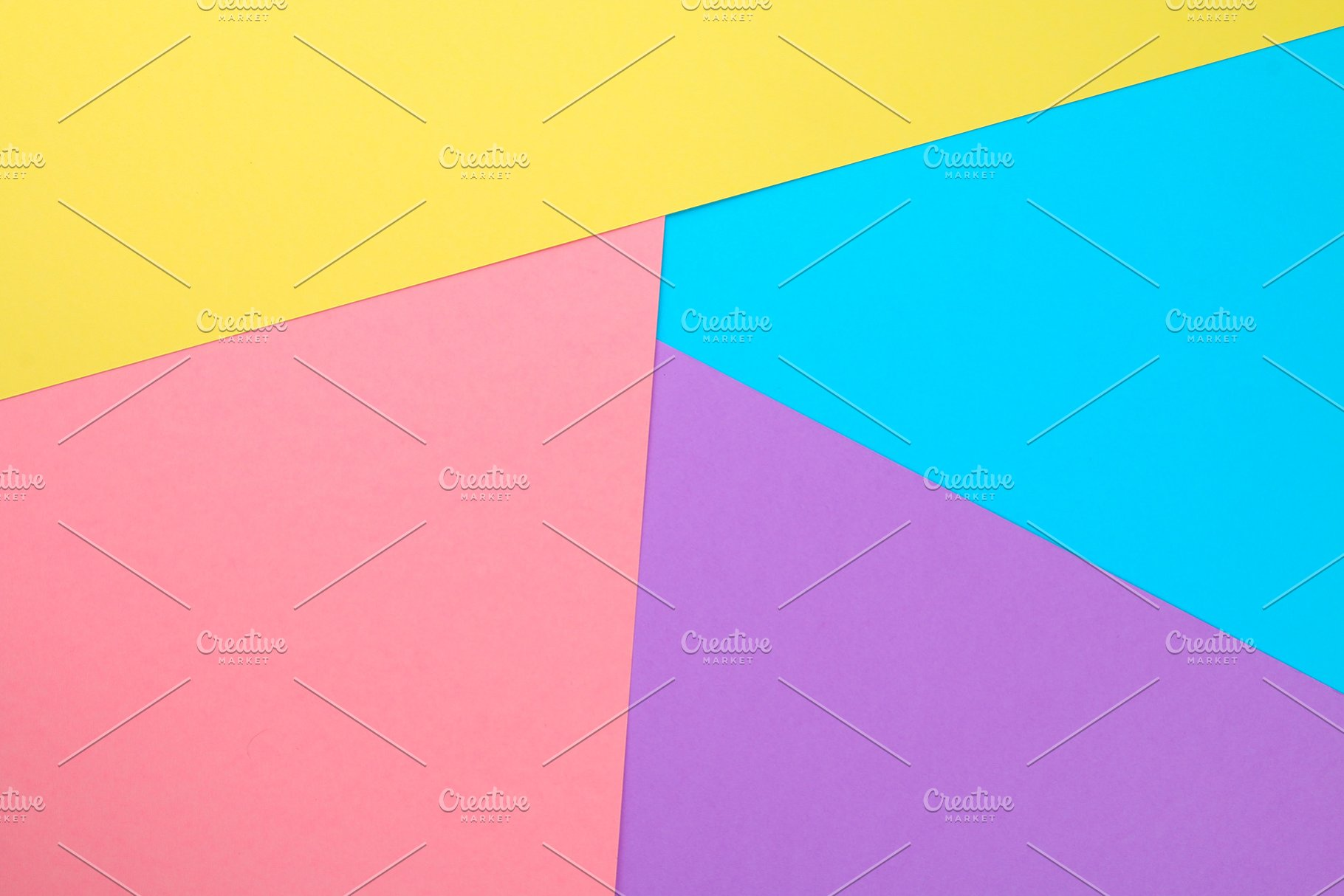 Abstract Paper Is Colorful Background Creative Design For Pastel Wallpaper