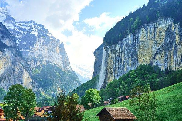 Holiday Stock Photos: PHOTOGINARIUM - Lauterbrunnen, Interlaken