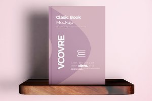 Book Hard Cover Mockup 10