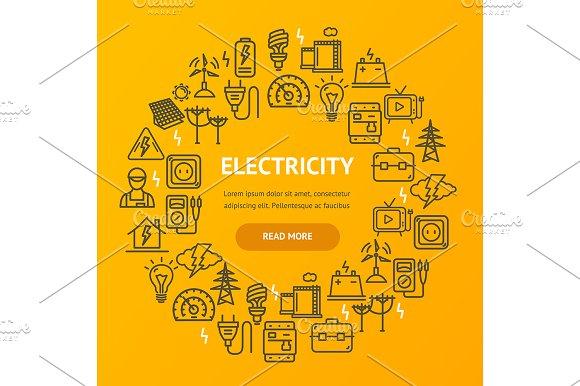 Electricity Round Design Template