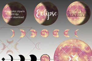 Moon cliparts