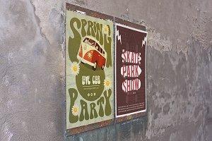 Poster Mockup in Venecia 3