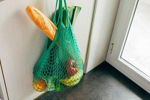 Eco string shopping bag