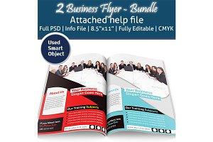 2 Business Flyers - Bundle