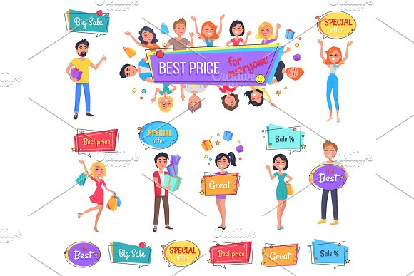 Big Sale With Best Price For Everyone Promo Banner
