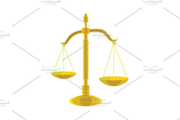Judge's Scales Scales Of Justice