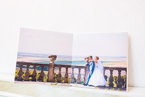 Wedding photobooks and album