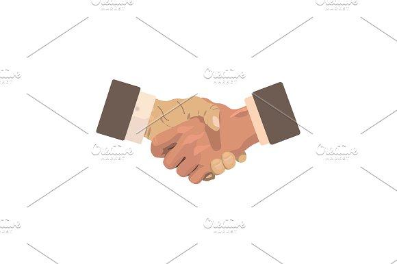 Business Concept Handshake Vector