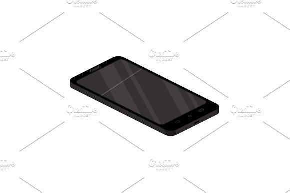 Color Vector Image Smartphone Icon