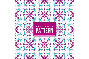 Seamless ornamental pattern. Traditional turkish, morrocan, arabesque, mexican ornaments.