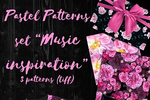 Patterns set Music inspiration