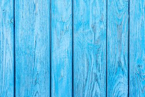 Wooden texture of blue color