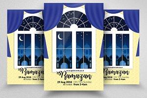 Ramadan Kareem Flyer Templates