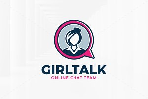 Girl Talk Logo Template