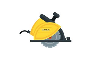 power tools circular saw icon