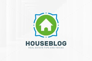 House Blog Logo Template