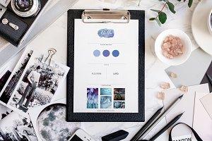 Branding/Mood-Board Templates