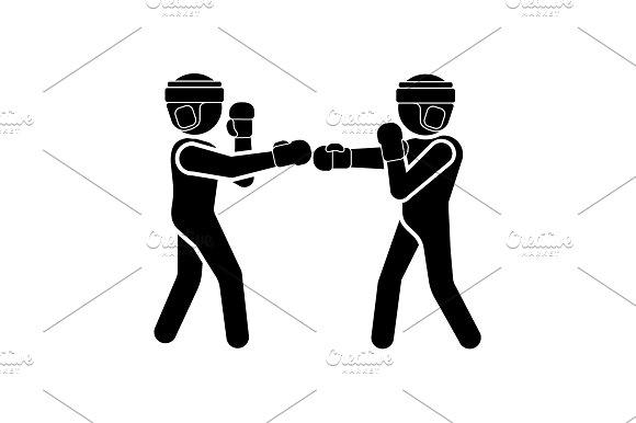 Vector Illustration Boxers Icon