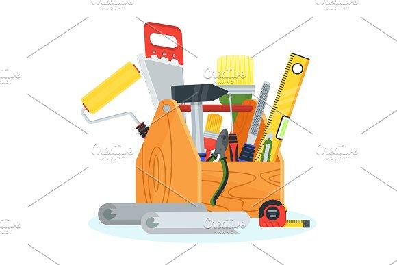 Tools For Repair In Tollbox