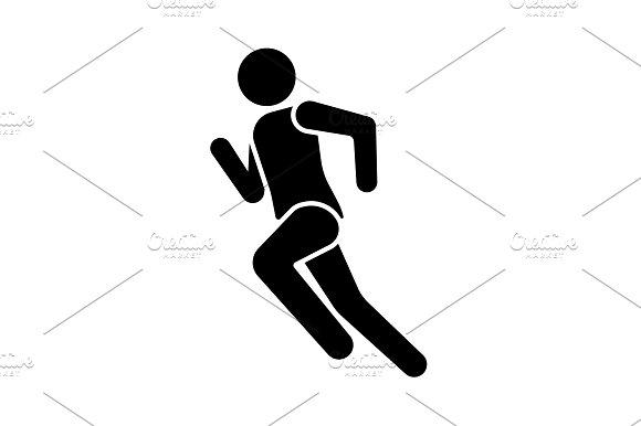 Vector Illustration Runner Icon