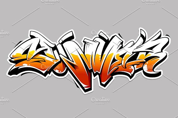 Summer Graffiti Lettering