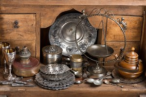 Vintage home objects