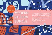 Modern Pattern Bundle   65% Off