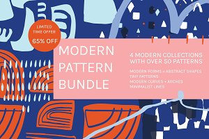Modern Pattern Bundle | 65% Off