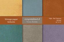 "Vintage paper textures (16""x12"")"