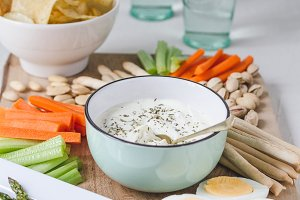 Whipped Feta Dip for a Dinner Party