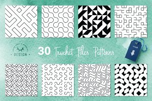Truchet Tiles - Geometric Patterns