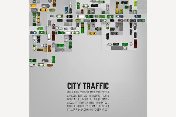 City Traffic Background