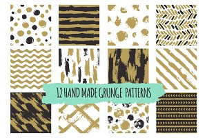 Hand drawn seamless patterns vol.1