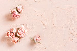 Tender textured pink background