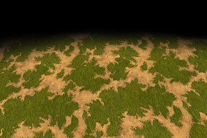 Grass texture Tile 3 (hand-painted)