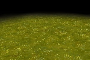 Grass texture Tile 4 (hand-painted)