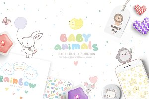 Baby cute animals