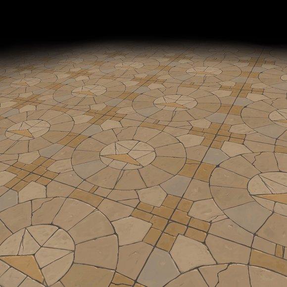 Medieval Floor Tile 1
