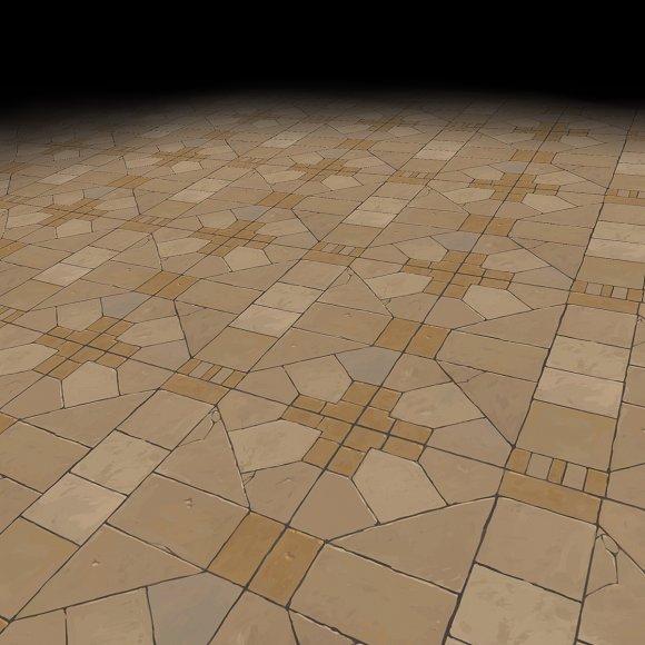 Medieval Floor Tile 2