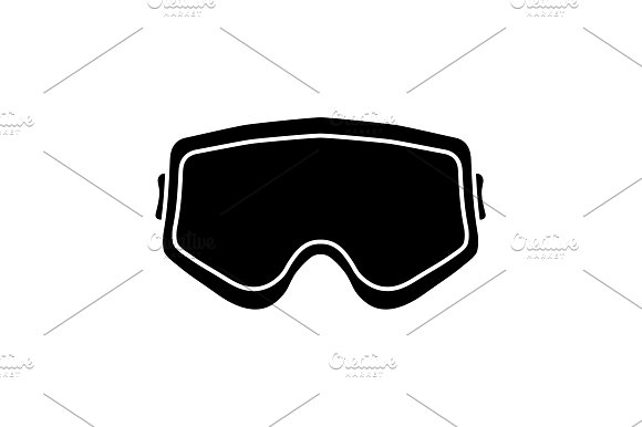 Protective Glasses Airsoft Icon