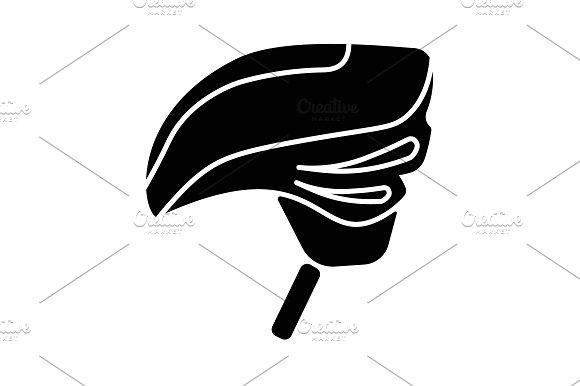 Bike Helmet Icon
