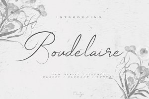 Boudelaire Script
