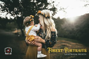 Forest Portrait for Lightroom
